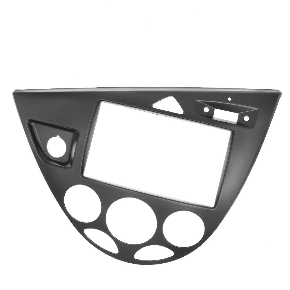 2 Din Radio Fasica for Ford Focus / Fiesta Stereo Panel Radio Trim Kit Face Frame LHD Refitting Installation